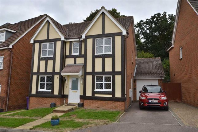 Thumbnail Detached house to rent in Quantock Close, Great Ashby, Stevenage, Herts