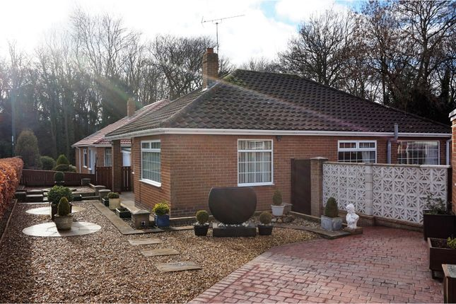 Thumbnail Detached bungalow for sale in Hollywalk Close, Normanby, Middlesbrough