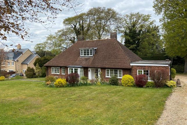 Thumbnail Detached bungalow for sale in Priory Close, Royston