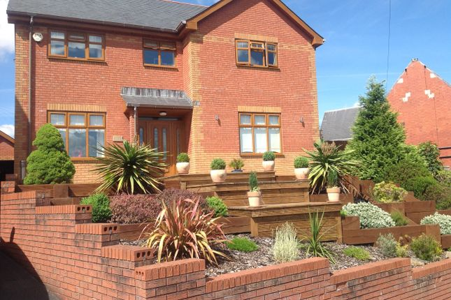Thumbnail Detached house for sale in Penydarren Park, Merthyr Tydfil