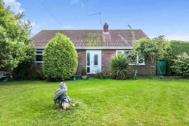 Thumbnail Detached bungalow for sale in The Crescent, Beckingham, Doncaster