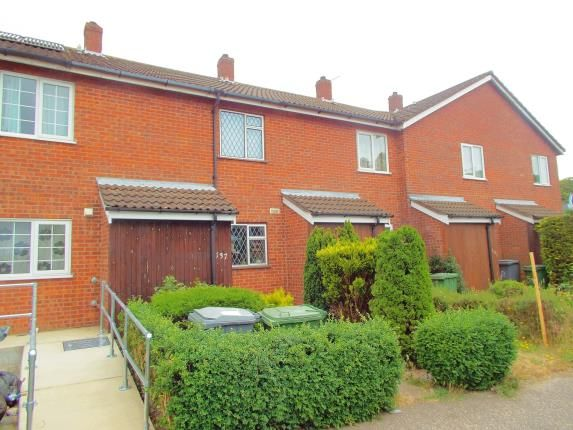 Thumbnail Terraced house for sale in Sprowston, Norwich, Norfolk