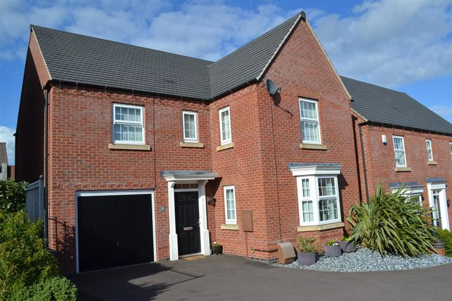 Thumbnail Detached house for sale in Hope Way, Church Gresley, Swadlincote