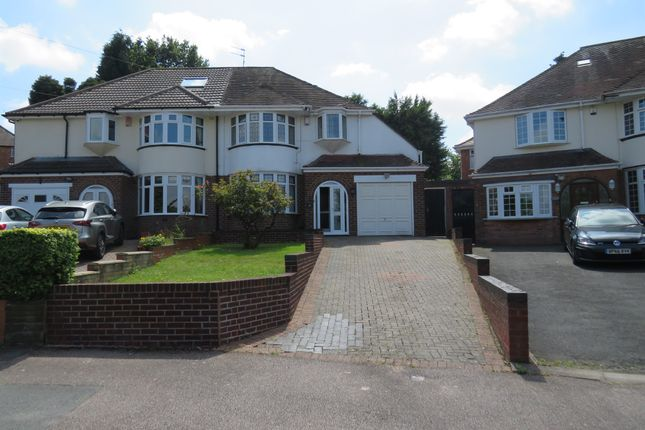 Thumbnail Semi-detached house for sale in Ashcombe Avenue, Handsworth Wood, Birmingham