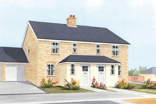 Thumbnail Semi-detached house for sale in Mildenhall Road, West Row, Bury St. Edmunds