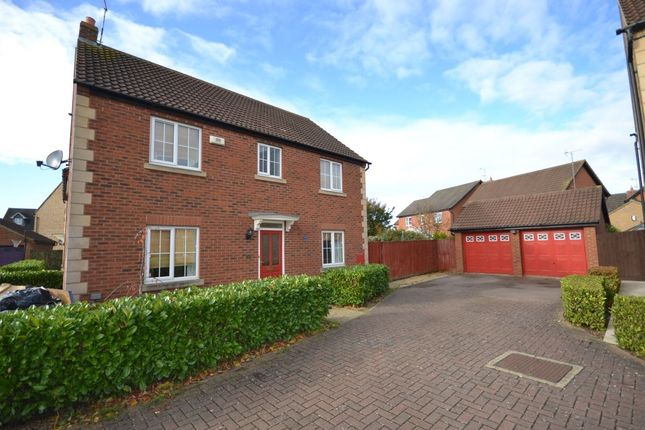Thumbnail Detached house to rent in Wake Way, Grange Park, Northampton