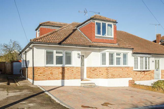 Thumbnail Semi-detached house for sale in Ridgeway, Ingatestone