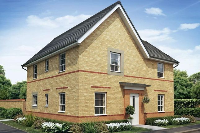 "Thumbnail Detached house for sale in ""Alderney"" at Newton Abbot Way, Bourne"