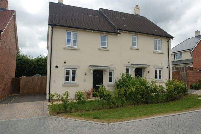 Thumbnail Semi-detached house to rent in Hyde Park, Lords Way, Andover