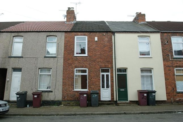 Thumbnail Terraced house for sale in York Road, Shirebrook, Mansfield