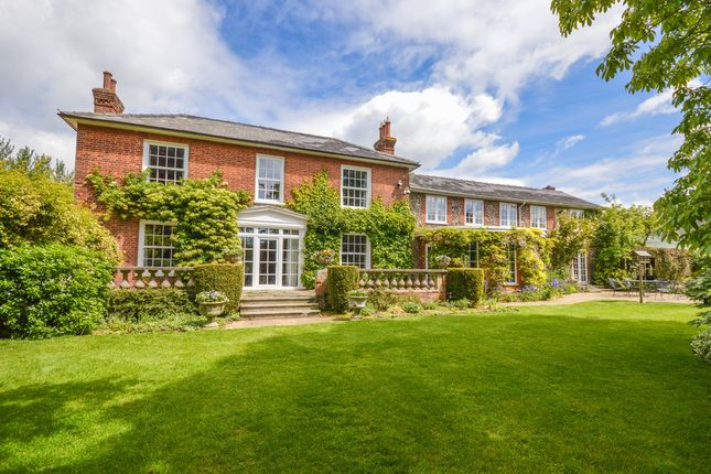 Thumbnail Detached house for sale in Hundon Road, Barnardiston, Haverhill