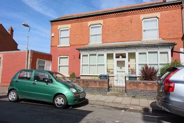 Thumbnail End terrace house for sale in Fernley Road, Sparkhill, Birmingham