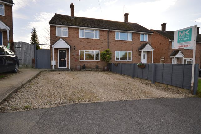 Thumbnail Semi-detached house for sale in Maud Janes Close, Ivinghoe, Buckinghamshire