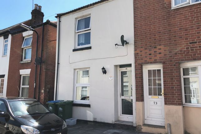 Thumbnail End terrace house for sale in Liverpool Street, Inner Avenue, Southampton