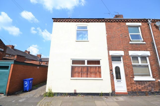 Thumbnail End terrace house for sale in Stanley Road, Hartshill, Stoke-On-Trent