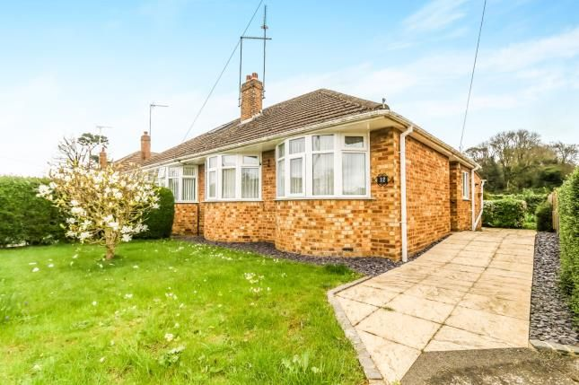 Thumbnail Bungalow for sale in Church View, Ecton Village, Northampton, Northamptonshire