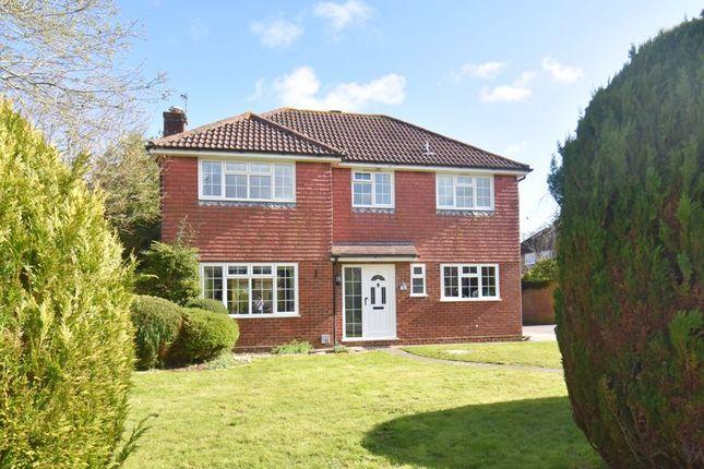 Thumbnail Detached house for sale in St. Gabriels Lea, Chineham, Basingstoke