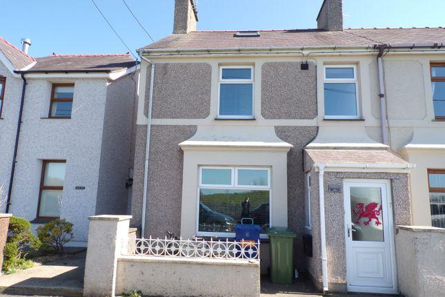 Thumbnail Property for sale in West End Road, Penygroes, Caernarfon, Gwynedd