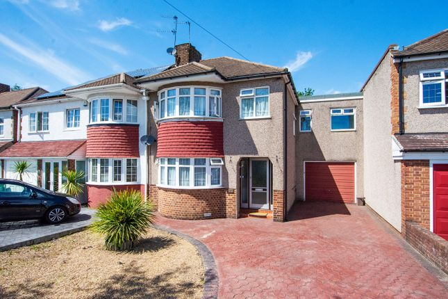 3 bed semi-detached house for sale in Longmead Drive, Sidcup DA14