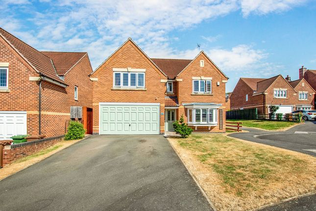 Thumbnail Detached house for sale in Vindex Close, Lincoln