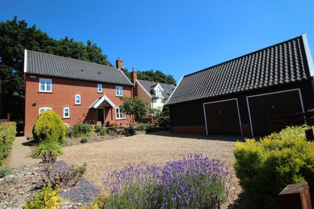 Thumbnail Detached house for sale in Church Close, South Walsham, Norwich