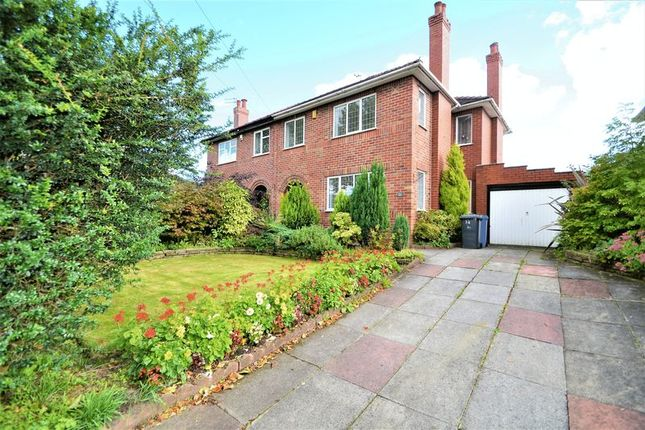 Thumbnail Semi-detached house to rent in Ellenbrook Road, Worsley, Manchester