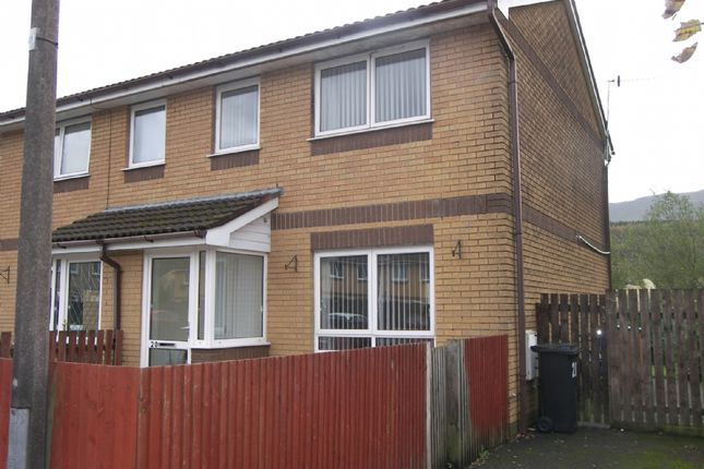 Thumbnail Semi-detached house to rent in Golwg Y Coed, Glynneath, Neath