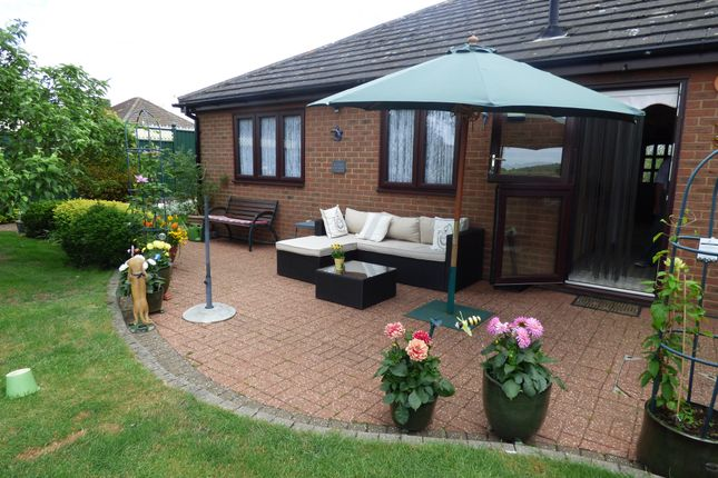 Thumbnail Detached bungalow for sale in Chestnut Close, Hunsdon, Ware