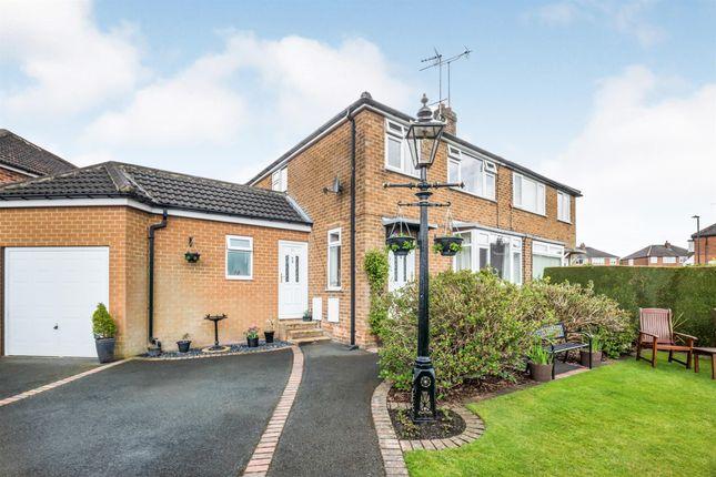 Thumbnail Semi-detached house for sale in Wedderburn Close, Harrogate