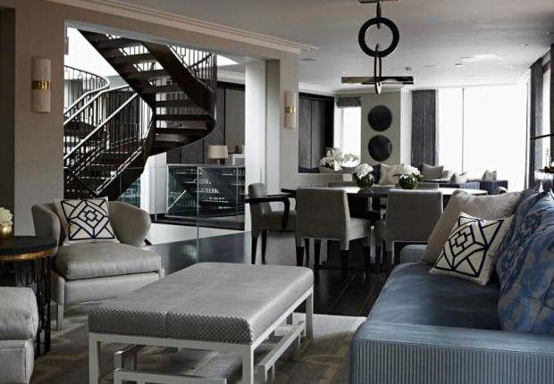 3 bed flat to rent in The Lansbury, 19 Basil Street, Knightsbridge, London SW3