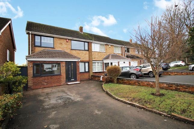 Thumbnail Semi-detached house for sale in Birchley Rise, Solihull
