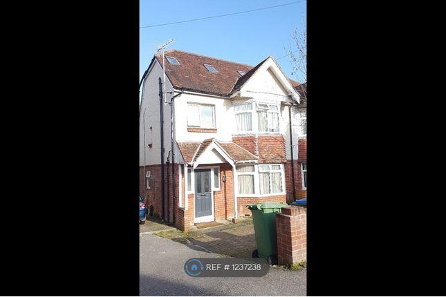 Thumbnail Semi-detached house to rent in Granby Grove, Southampton