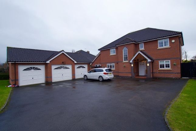 Thumbnail Detached house to rent in Mountfields, Bangor-On-Dee, Wrexham