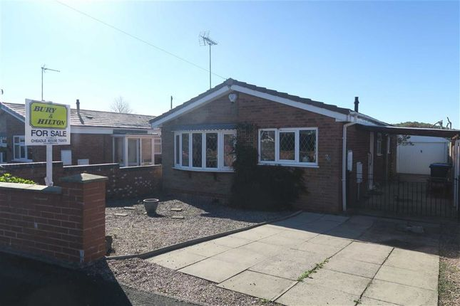 Thumbnail Detached bungalow for sale in Beswick Close, Cheadle, Stoke-On-Trent