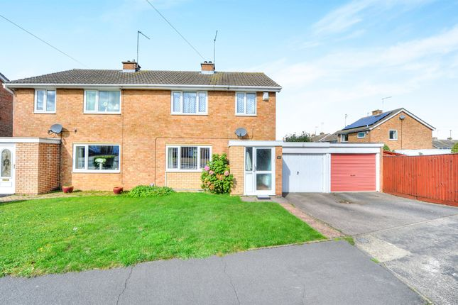 Thumbnail Semi-detached house for sale in Ashby Drive, Rushden