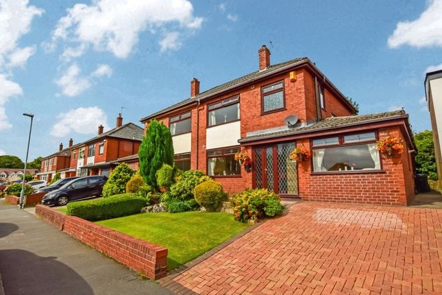 Thumbnail Semi-detached house for sale in Limefield Road, Smithills, Bolton