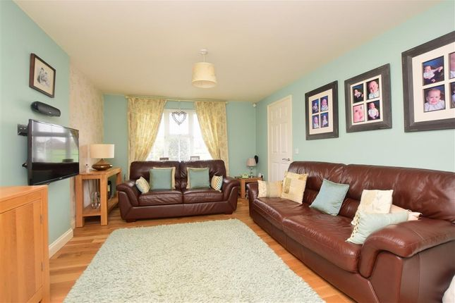 Thumbnail Detached house for sale in Pannell Drive, Hawkinge, Folkestone, Kent