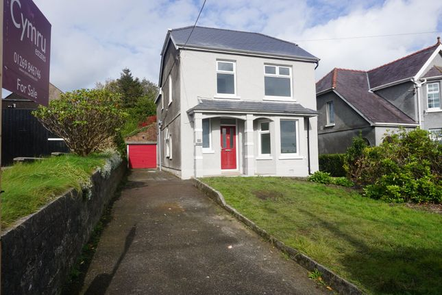 Thumbnail Detached house for sale in Heol Y Parc, Cefneithin, Llanelli