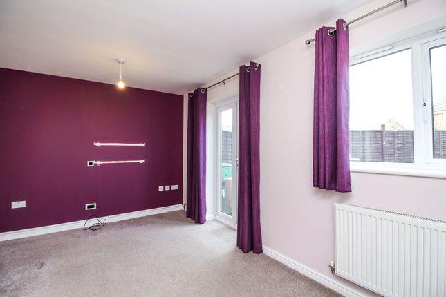 Thumbnail End terrace house to rent in Garrington Road, Aston Fields, Bromsgrove