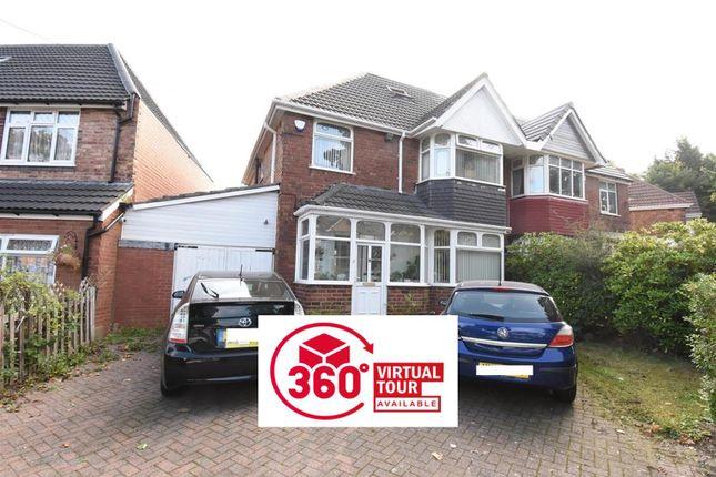 Thumbnail Semi-detached house for sale in Plaistow Avenue, Hodge Hill, Birmingham