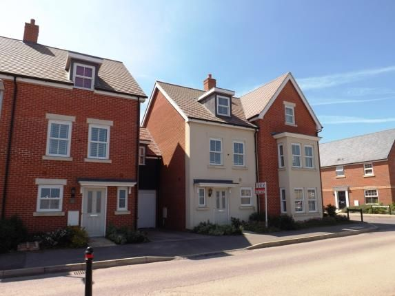 Thumbnail Terraced house for sale in Walker Mead, Biggleswade, Bedfordshire