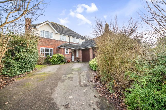 Thumbnail Detached house for sale in Reynards Copse, Highwoods, Colchester