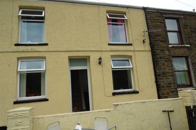 Thumbnail Terraced house for sale in Craig-Fryn Terrace, Nantymoel, Bridgend