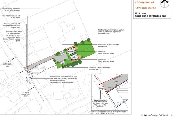 Thumbnail Land for sale in Kings Road, Wolverhampton
