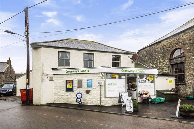 Thumbnail Retail premises for sale in Crossways General Stores, St Newlyn East, Newquay