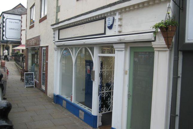 Thumbnail Retail premises for sale in High Street, Denbigh