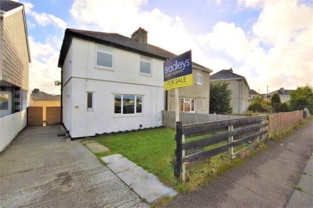 Thumbnail Semi-detached house for sale in Warfelton Crescent, Saltash, Cornwall