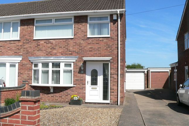 Thumbnail Semi-detached house for sale in Green Island, Hull, East Riding Of Yorkshire