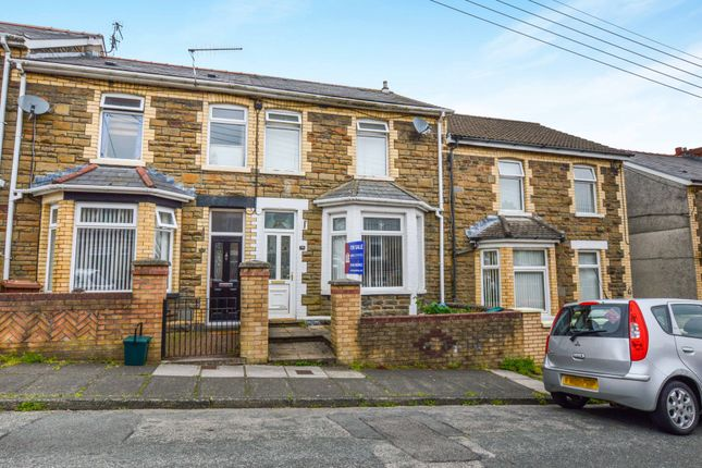Thumbnail Terraced house for sale in Park Road, Bargoed