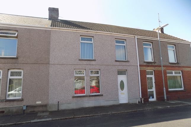 Thumbnail Terraced house for sale in Pendarvis Terrace, Aberavon, Port Talbot, Neath Port Talbot.